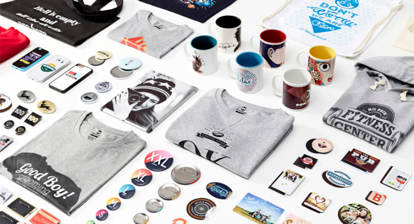 Camaloon merchandise that has been made using screen printing