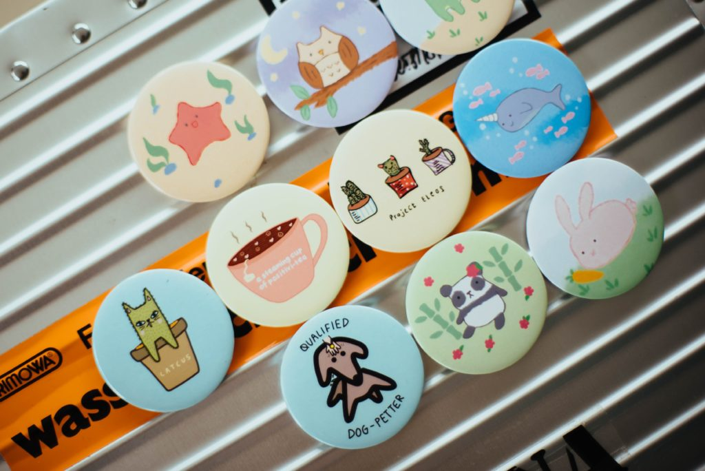 The Best Printing Technique for Personalised Badges
