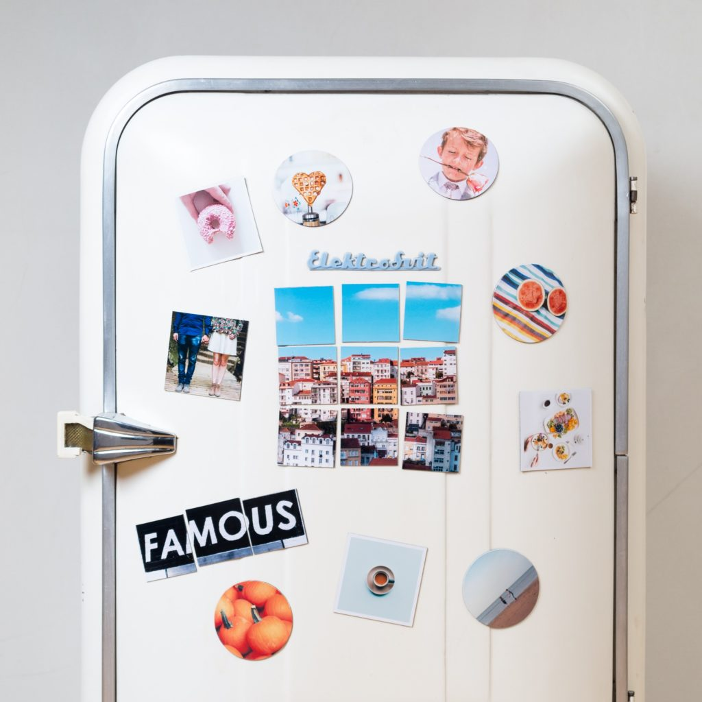 Personalised magnets Camaloon